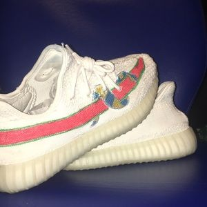 1054499a42aba Yeezy Shoes - Cream white yeezys custom